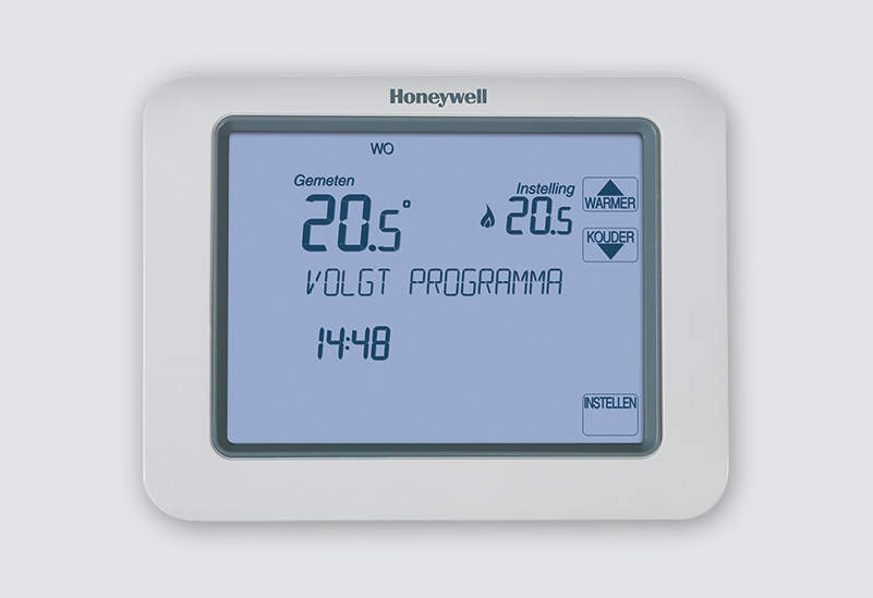 honeywell touch thermostaat